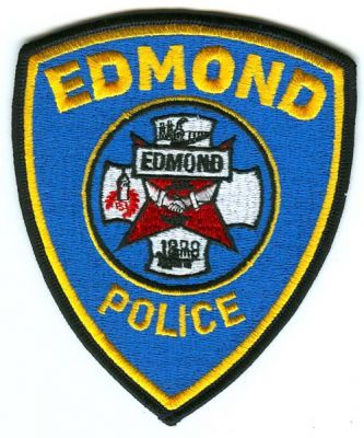Edmond Police officer badge